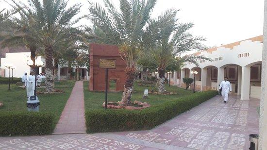 Al-Ula ARAC Resort: outside the rooms