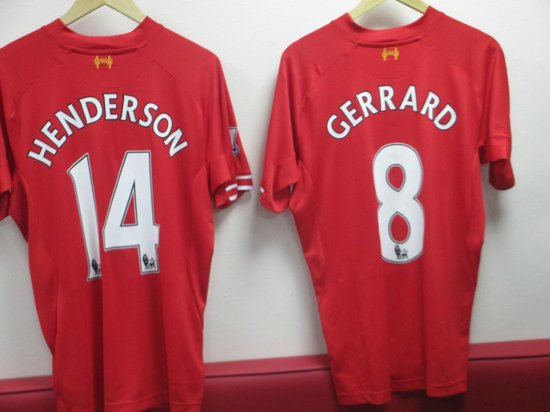 Anfield Stadium: The changing rooms
