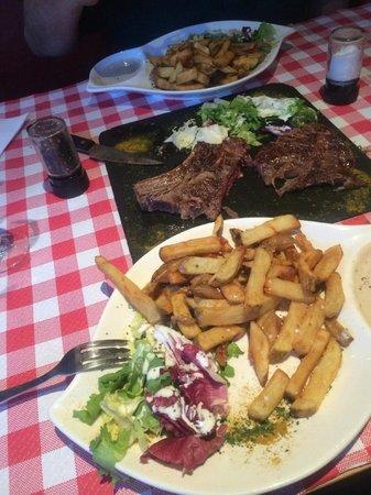 Le Ranch : T-Bone steak & frites
