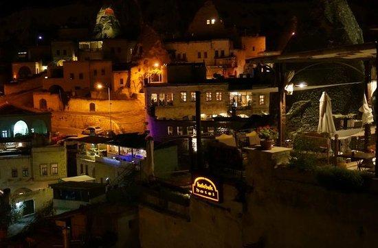 Canyon View Hotel: 屋上からの夜景