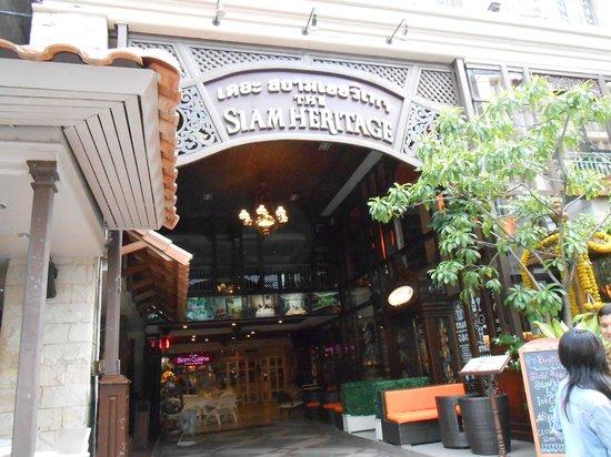 The Siam Heritage : ホテルの入り口