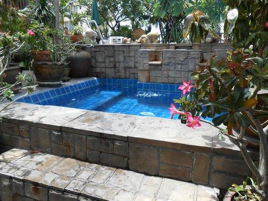The Siam Heritage : 屋上のプール横にあるジャグジー