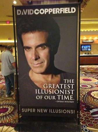 David Copperfield : He's the first living illusionist to be honoured with a star on the Hollywood Walk of Fame