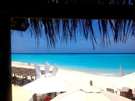 Club Med Columbus Isle: Vue du bar de la plage