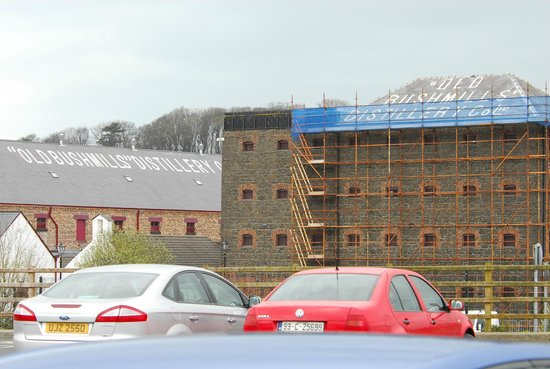 Bushmills Distillery : from the parking area