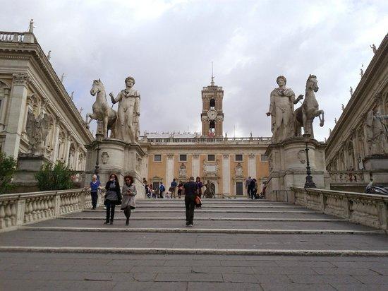 Charming Scalinata Più Famosa Di Roma Alla Piazza Del Campidoglio. Foto C Polidori Nice Ideas
