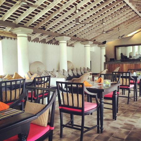The Wallawwa: Restaurant area