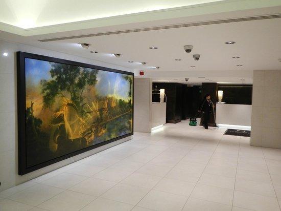 Doubletree by Hilton London - Westminster: reception un peu vide