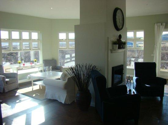 Hotel Grimsborgir: Living room