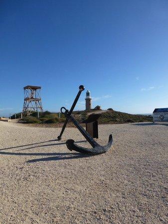Vlamingh Head Lighthouse: anchor