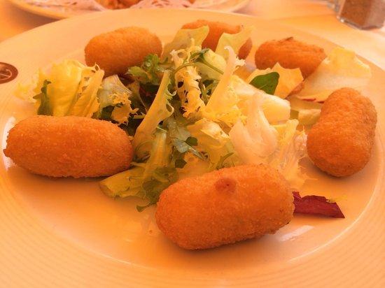 Hotel La Santa Maria: Croquetas de bacalao