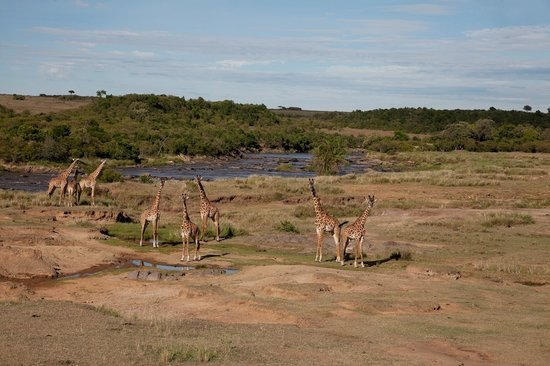 Serian: Nkorombo - located in the reserve on the river
