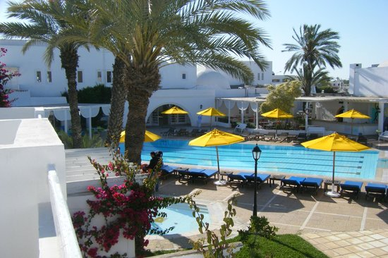 Hotel Djerba Haroun: Zwembad