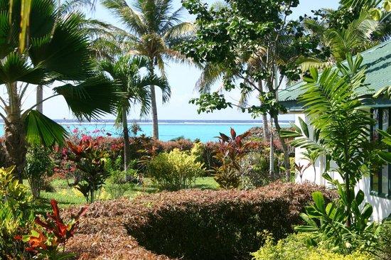 Amoa Resort: Blick zum Strand