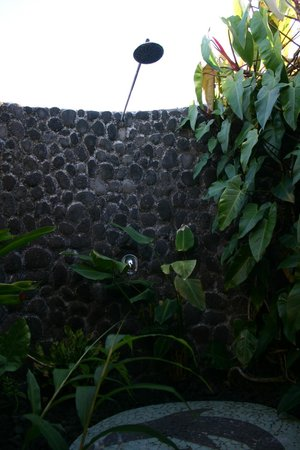 Amoa Resort: offene Dusche