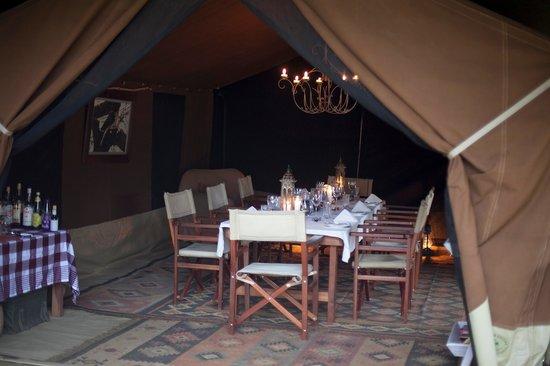 Serian: Nkorombo - Mess Tent Interior