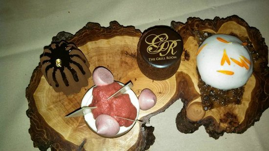 The Grill Room: Chocolate for two dessert