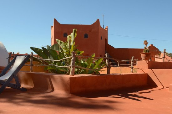 Riad Baoussala: Le toit terrasse / The roof terrace