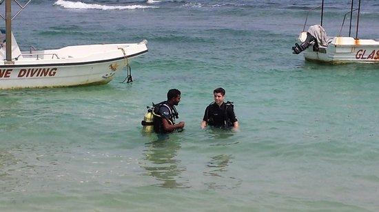 Submarine Diving School: training