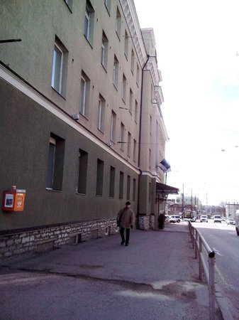 Kreutzwald Hotel Tallinn: с улицы