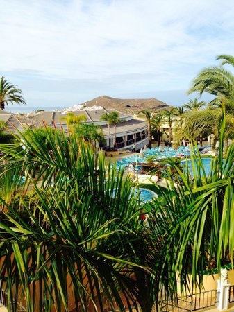 Gran Oasis Resort: Utsikt från vår balkong