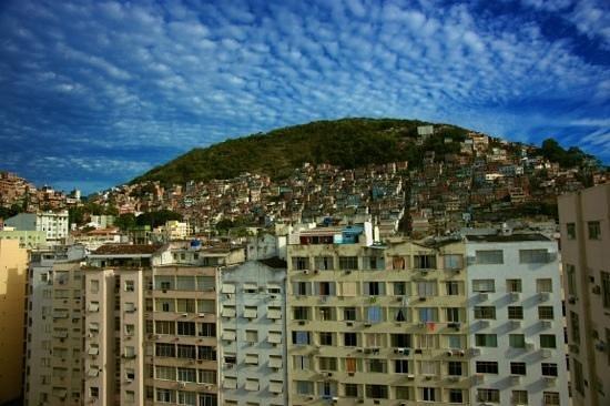 South American Copacabana Hotel : Вид из окна номера с  12 этажа