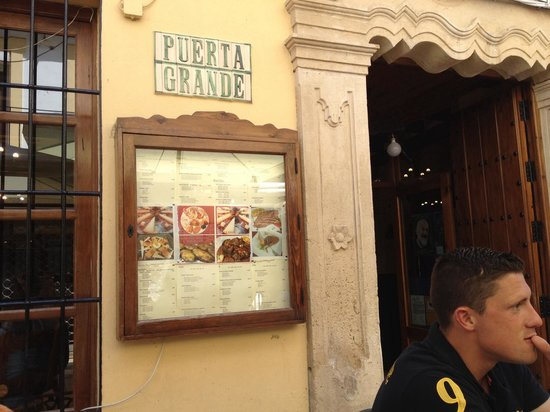 Puerta Grande: Entrance not to pass! :)