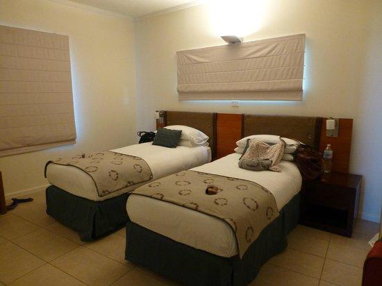 Mantarays Ningaloo Beach Resort: single beds