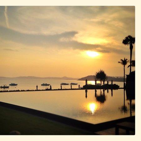 Hansar Samui Resort : first morning view