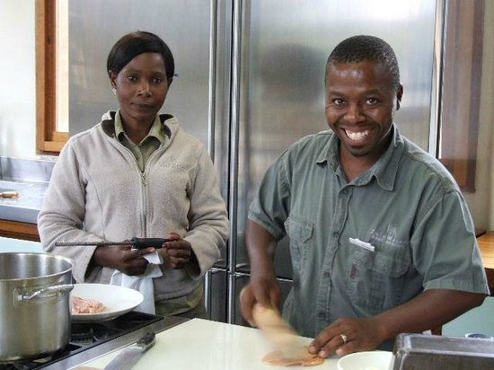 ZuluWaters Game Reserve: where the menu comes to life!