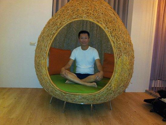 Follow Me B&B: Cosy nest seat