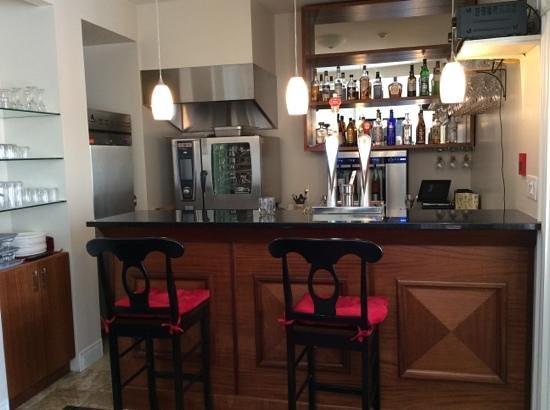 Le Manoir d'Auteuil : lobby bar