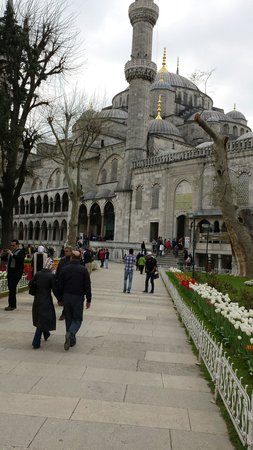 Historic Areas of Istanbul: المسجد الأزرق