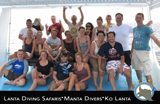 Lanta Diving Safaris: Happy Divers