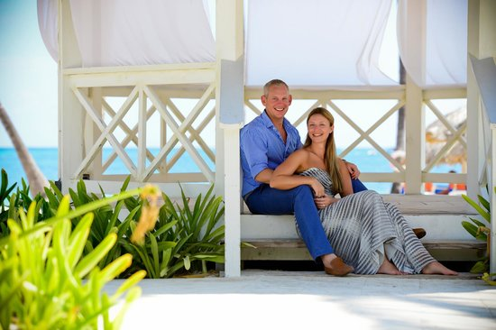 Dreams Palm Beach Punta Cana : Us two - photograph by Gaby -best ever photographer!!