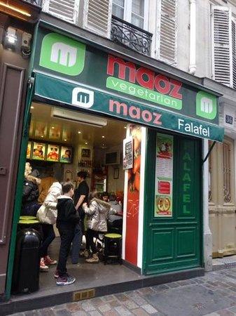 Maoz Vegetarian: Best food in Paris!