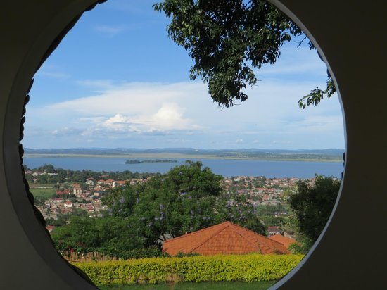 Cassia Lodge : Uitzicht over Victoriameer