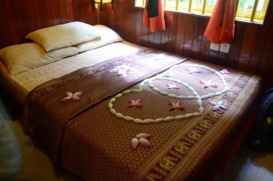 Golden Temple Villa: Very surprise with this arrangement :D