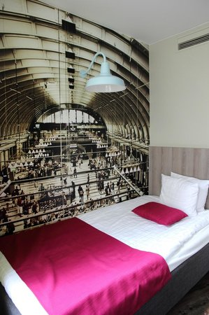ProfilHotels Central Hotel: Bed