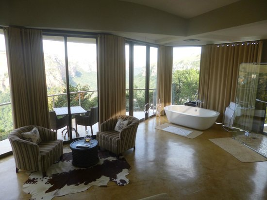The Gorge Private Game Lodge & Spa : Room with a view...