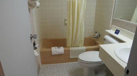 Jackson Travelodge : 浴室