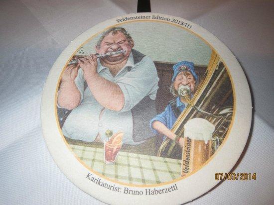 Hotel Gasthof zum Weyßen Rößle zu Schiltach : Wieder ein neue Bierdeckel aus dem weyßen Rößle