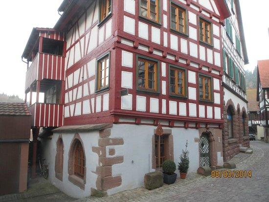 Hotel zum Weyssen Roessle: Ein Stück weiter durch Schiltach