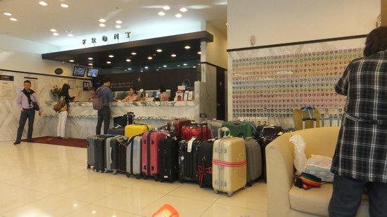 Toyoko Inn Busan Seomyeon: フロント