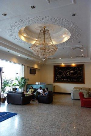 Central Hotel Yangon : Lobby