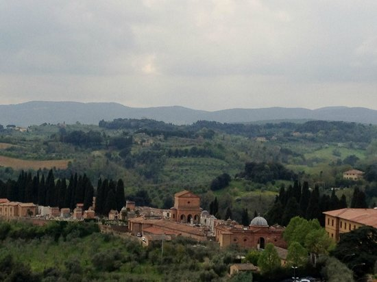 Palazzo Ravizza: View from our room
