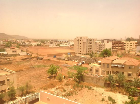 Radisson Blu Hotel, Bamako: view from the room