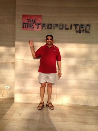 The Metropolitan Hotel & Spa New Delhi: Mahantji Dr. Balliram Chadee