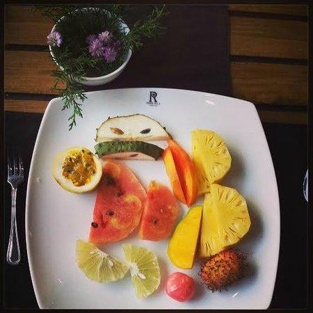 Ridee Villa: breakfast