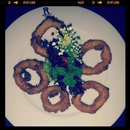 Ridee Villa: dinner